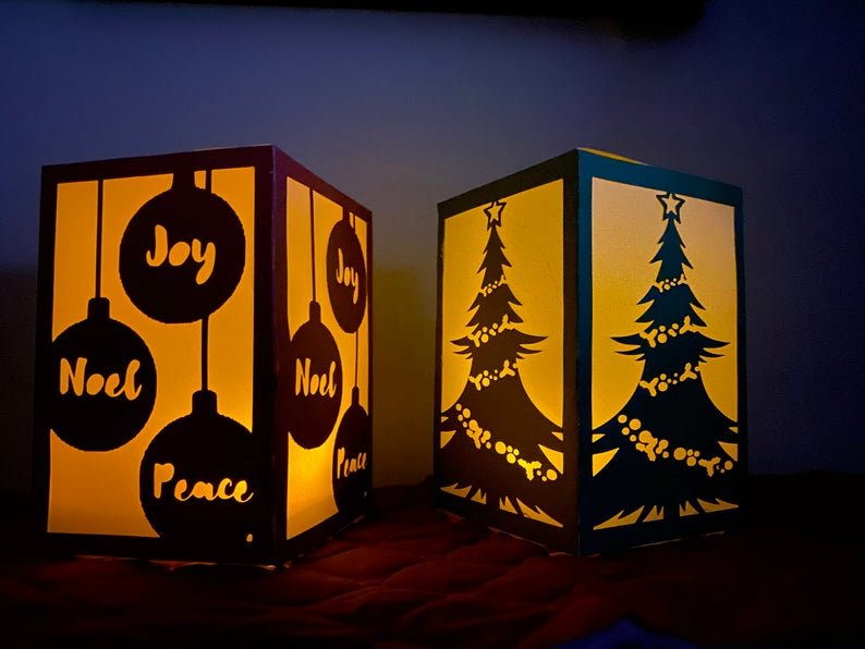 17 Beautiful Christmas Luminaries That Will Add A Magic Touch To Your Home