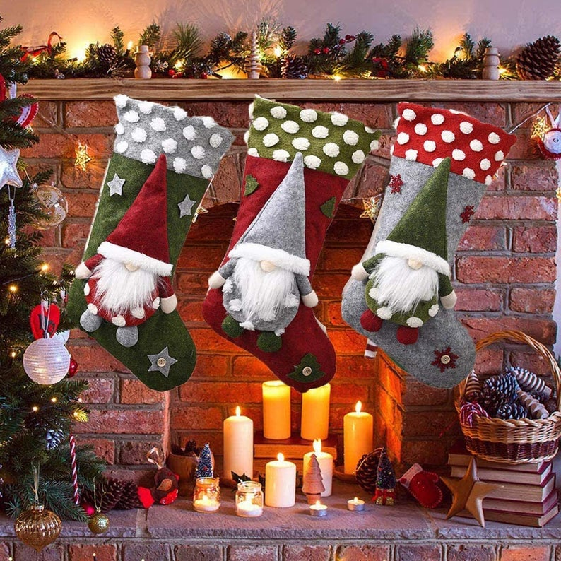 17 Joyful Christmas Stockings You Will Want To Hang On Your Mantel