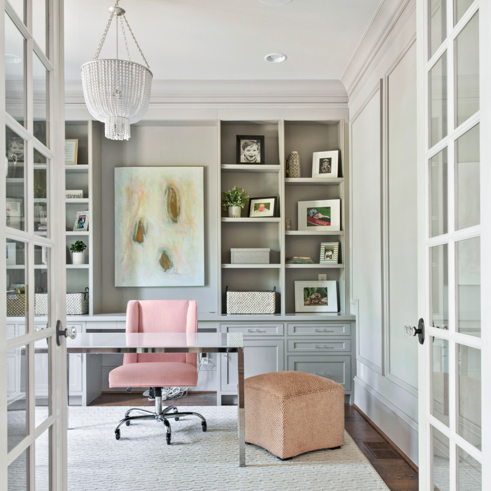 17 Superb Traditional Home Office Designs For Working From Home