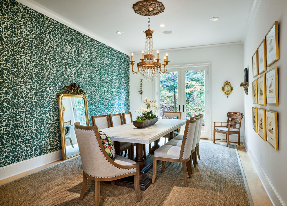 18 Marvelous Traditional Dining Room Interiors That Sparkle