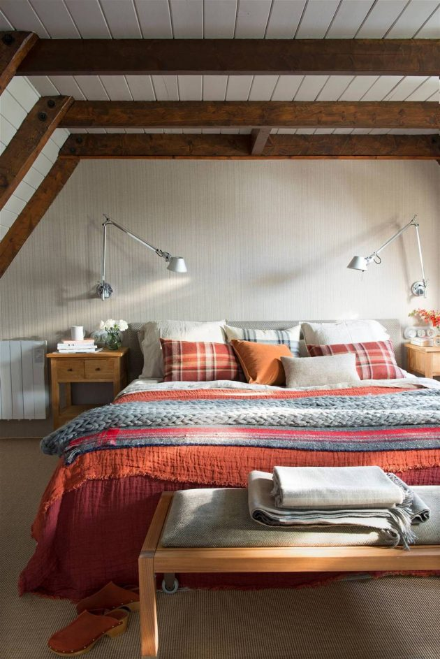10 Winter Bedrooms Where You Won't Be Cold (Part I)