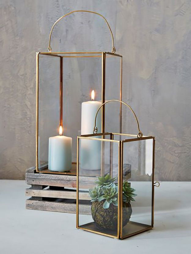 Lanterns & Candles For a Warm Atmosphere At Home