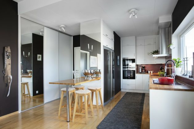 Black Dining Room - Do You Dare?