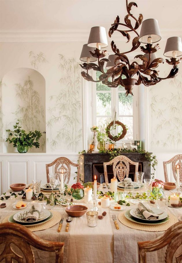 10 Best Christmas Dining Rooms (Part I)