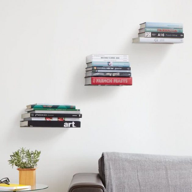Modern & Inspiring Creative Shelves That Can Make Your Home Look Charming