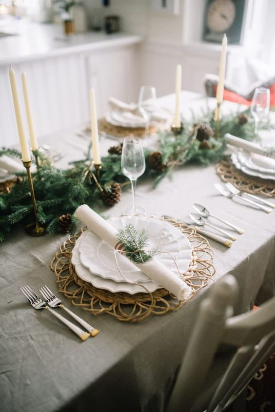 Trendy Table Decorations for the Holidays