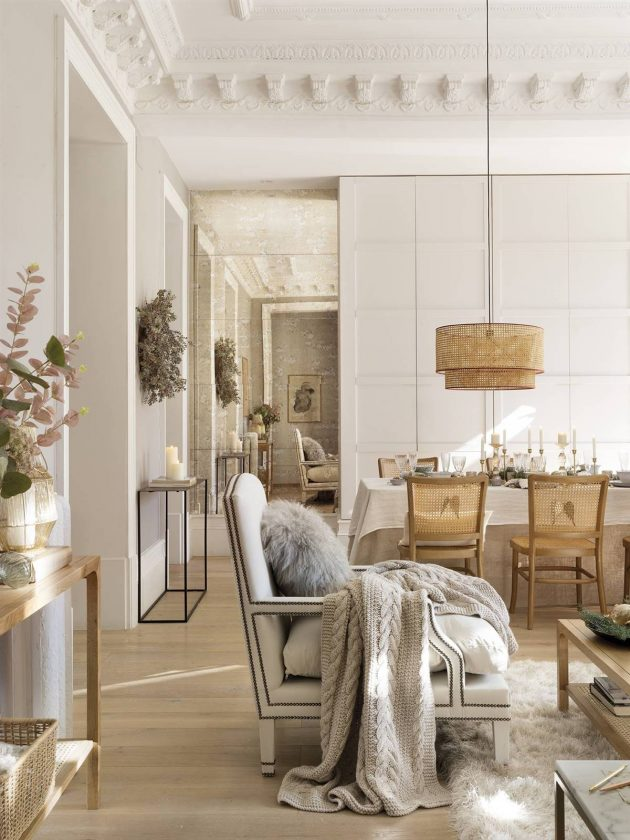 Get the Christmassy Look of This Wonderful Interior for Your Home