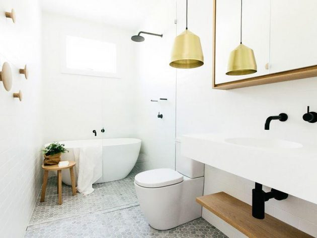 Bathrooms With Metals & Gilt Details