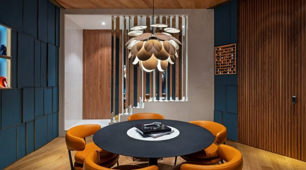 A Timeless Interior For A Timepiece Lounge: Entropia