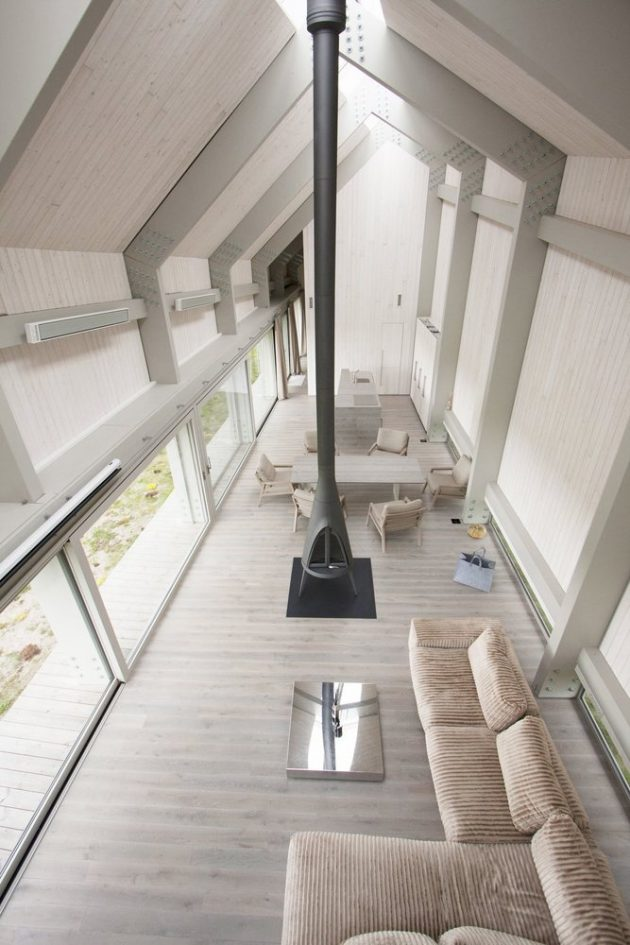 Dune House by ARCHISPEKTRAS in Pape, Latvia
