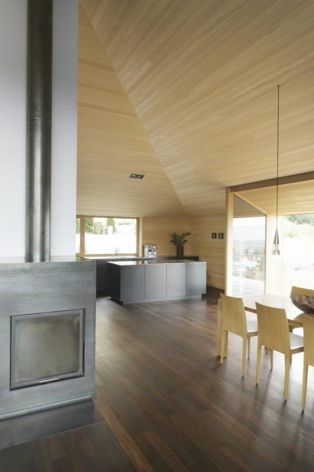 HD Haus by Bernardo Bader Architekten in Schwarzach, Austria