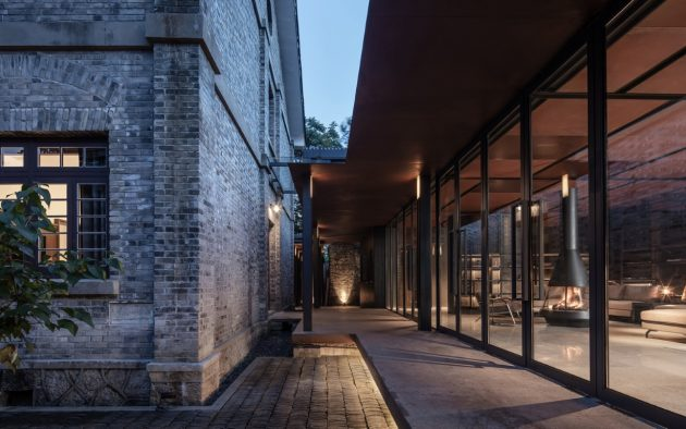 Shanthi Boutique Hotel by Jiakun Architects in Songyang, Zheijang