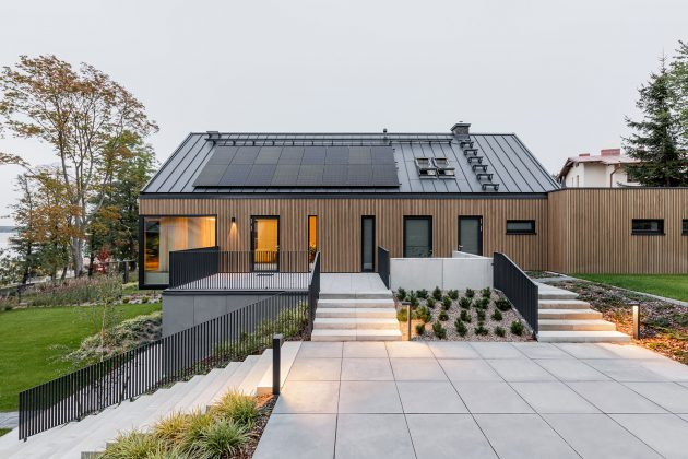 Single Houses in Bory Tucholskie by MAKA.STUDIO in Poland