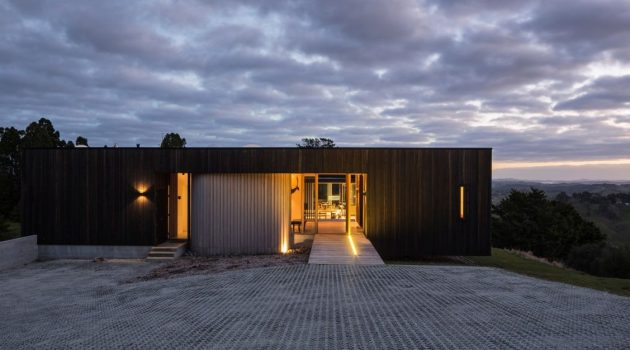 Te Hana Farmhouse by S3 Architects in New Zealand