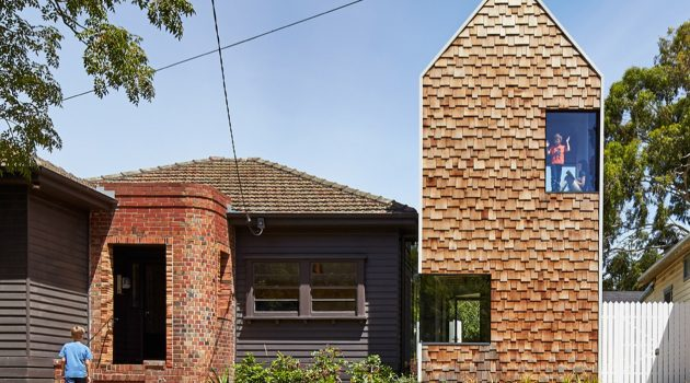 Tower House by Austin Maynard Architects in Alphington, Australia