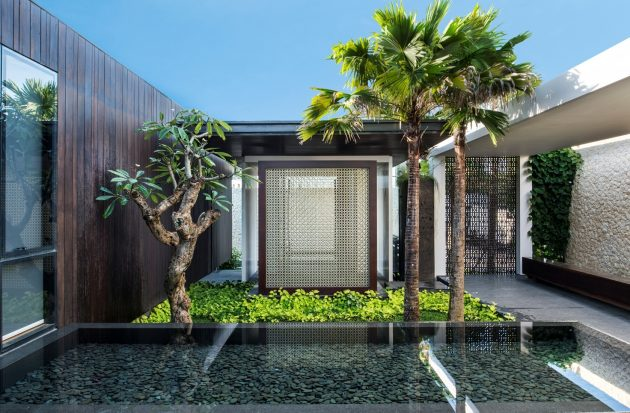 Villa WRK by Parametr Architecture in Indonesia