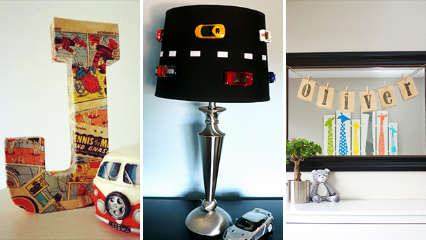 15 DIY Decor Ideas You Can Make For The Boys' Room