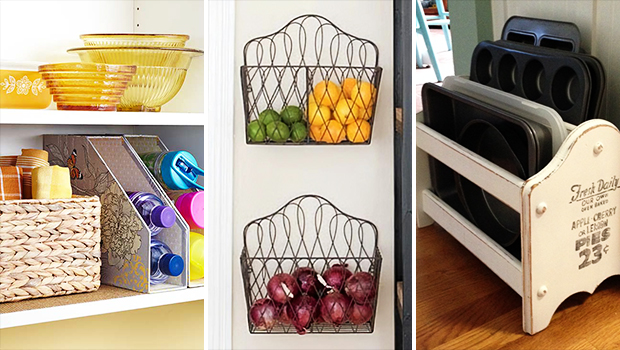 15 Genius DIY Storage Solutions Made From File Holders