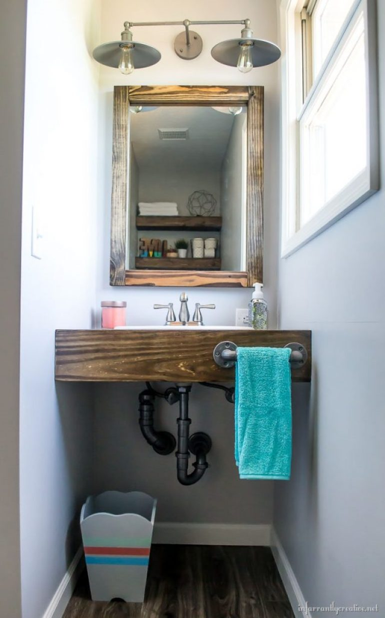 15 Stunning DIY Bathroom Vanity Projects That You Too Can Make