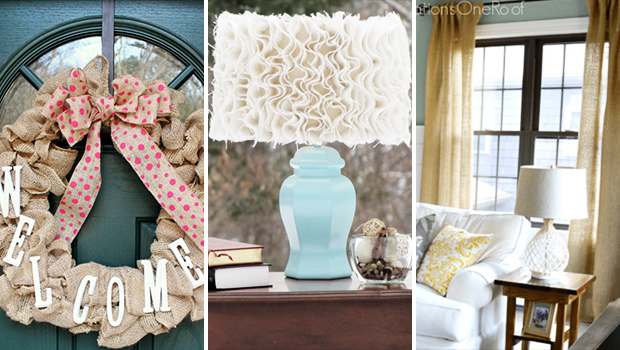 15 Super Easy DIY Burlap Craft Ideas That Are Simply Brilliant