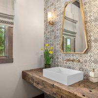 16 Enchanting Farmhouse Powder Room Designs You Didn't Know You Needed