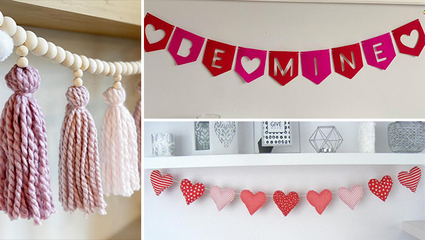 16 Lovely Valentine's Day Garland Ideas You Will Adore