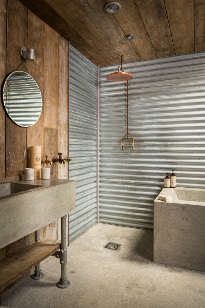 18 Farmhouse Bathroom Designs That Prove This Style Can Be Modern Too