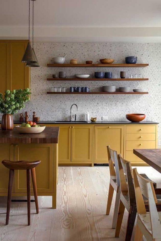 How To Use In Decoration The Mustard Color