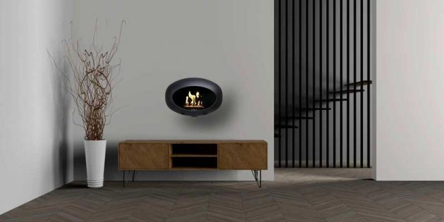 The Latest In Fireplaces - Magical Portable Models