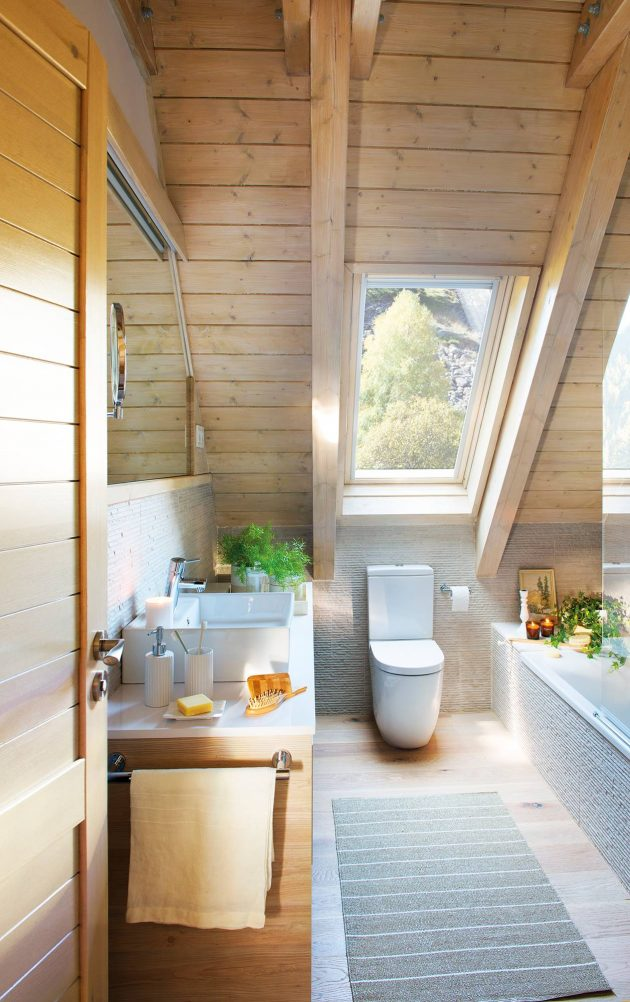 10 Great Ideas For A Small Bathroom (Part I)