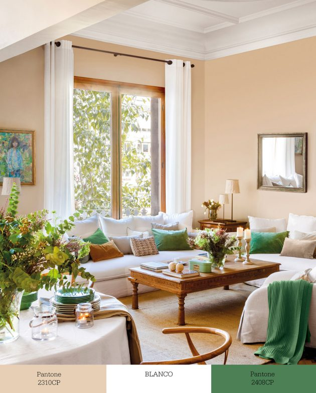 Trios of Colors That Transform Your Living Room