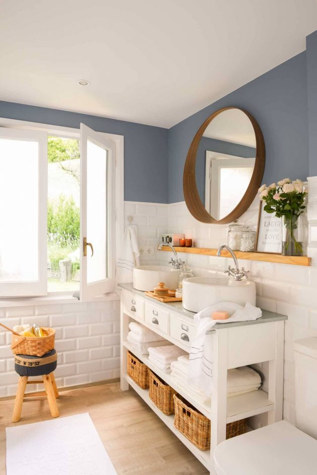 10 Great Ideas For A Small Bathroom (Part II)