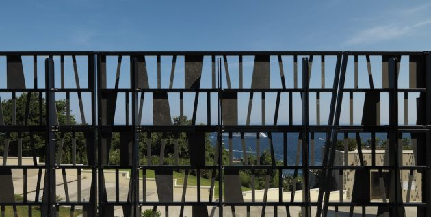 A power station becomes a distinctive element on the Island of Capri
