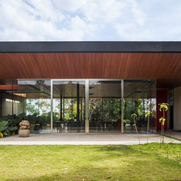 Cafezal House by FGMF Arquitetos by Brazil