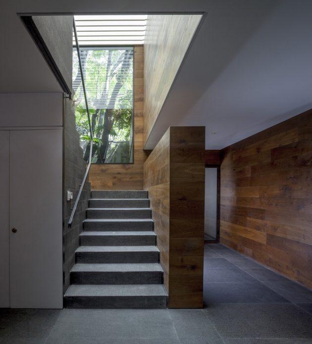 Casa O' by Despacho Arquitectos HV in Mexico City