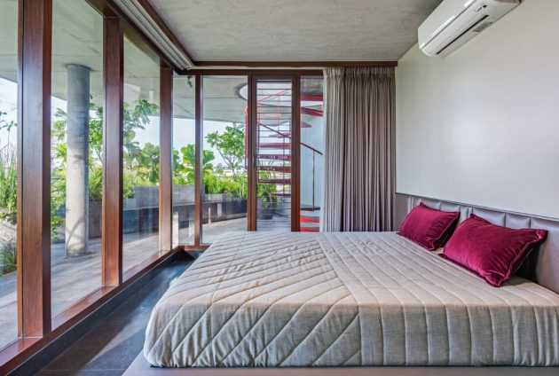 Cloaked Residence by Cadence Architects in Bangalore, India