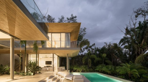 Courtyard House by Studio Saxe in Nosara, Costa Rica