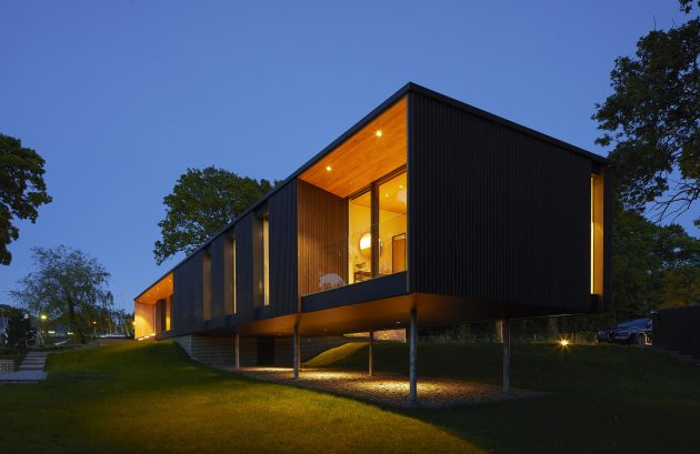 Island Rest Residence by Strom Architects on the Isle of Wight