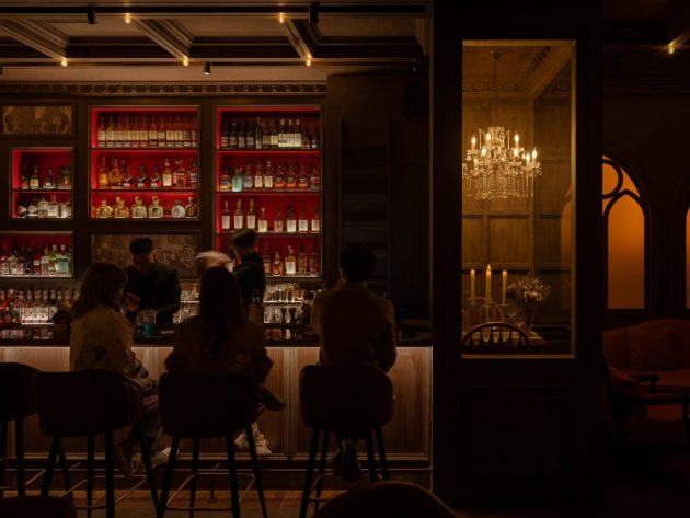 Magic Bar Designed by GB SPACE in Beijing