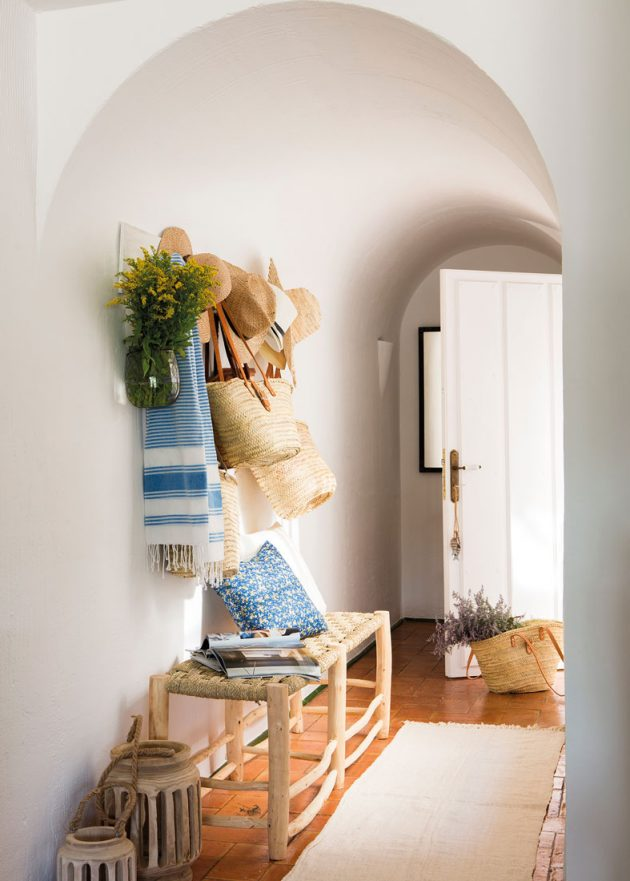 7 Small White And Wood Hallways (Part II)