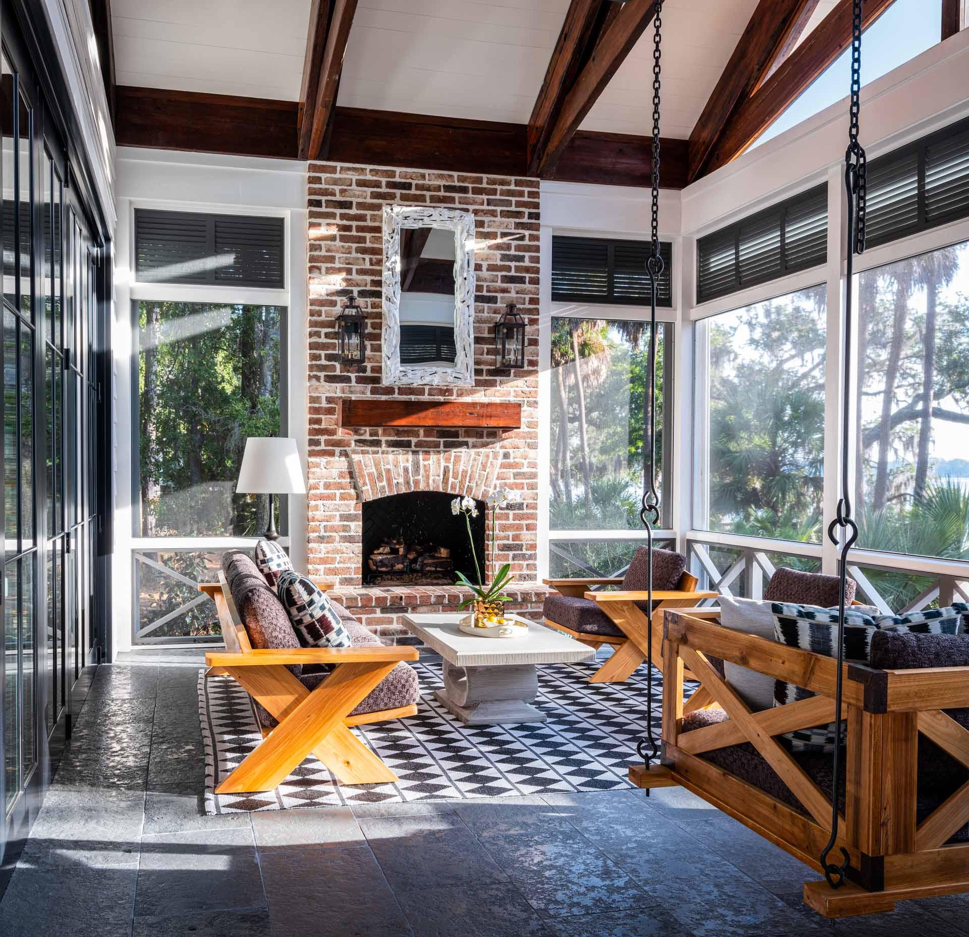 15 Beautiful Farmhouse Sunroom Designs You Will Enjoy Sitting In