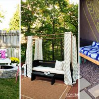 15 Lovely DIY Patio Bench Projects You Need To Make Before Spring