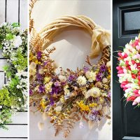 15 Refreshing Spring Wreath Design Ideas Inspired By Nature