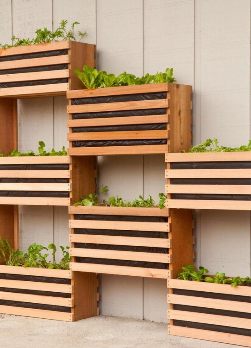 15 Stunning DIY Planter Designs You Can Make From Pallet Wood
