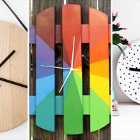 15 Wonderful DIY Wall Clock Projects You Will Enjoy Creating