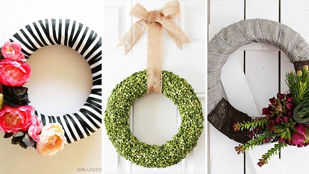 16 Fresh DIY Spring Wreath Ideas You Will Enjoy Making