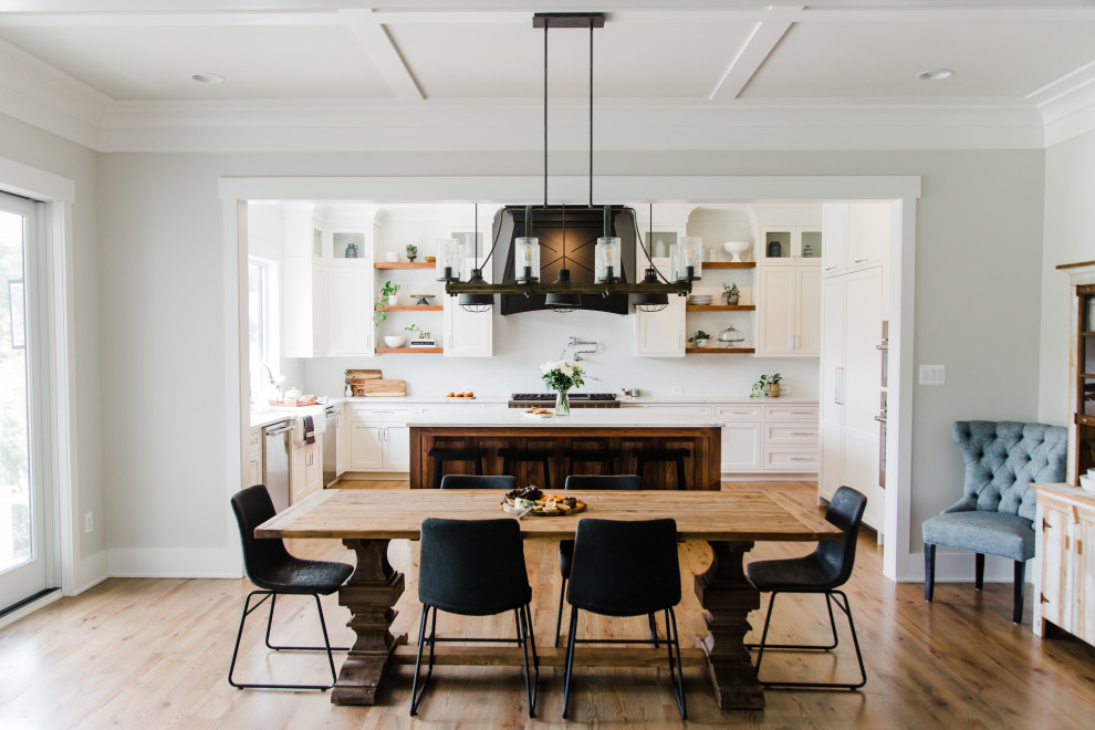18 Charming Farmhouse Dining Room Interiors You Won't Be Able To Resist