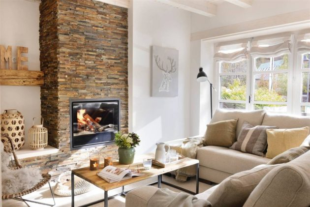 Magical Living Rooms With A Fireplace (Part II)