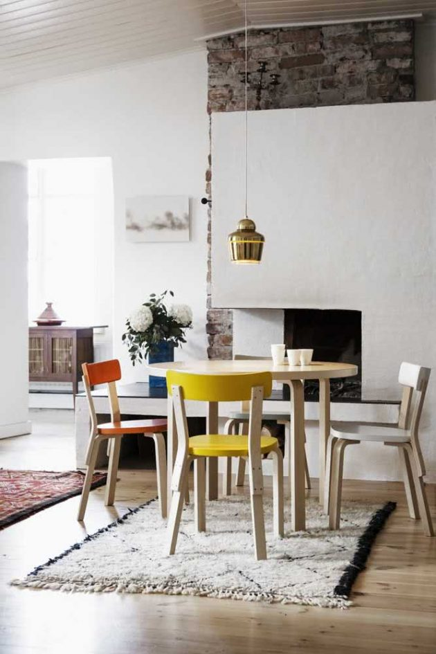 How To Use Yellow Chairs In Decorating Your Home