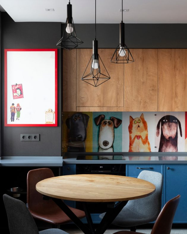 Bright Moscow Apartment For A Family And Their Dogs